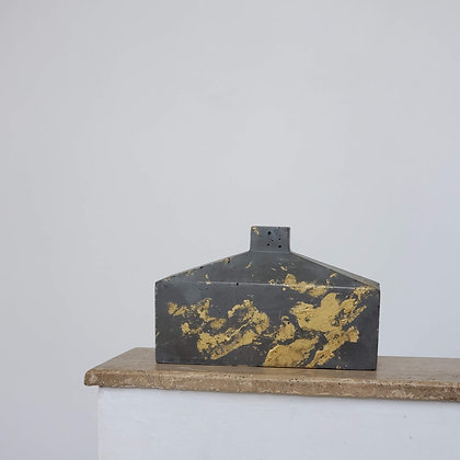 Botellón escultural menor hormigón colección Brann