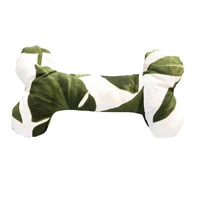 Hueso de telas hojas