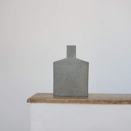 Botellón escultural medio hormigón colección Ren