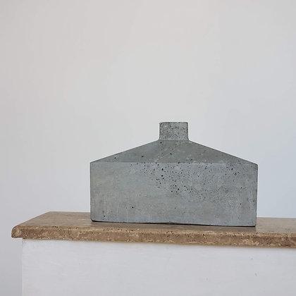 Botellón escultural menor hormigón colección Ren