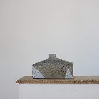 Botellón escultural menor hormigón colección Torden