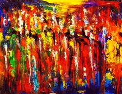 ColorScape #30. Rainbow City.