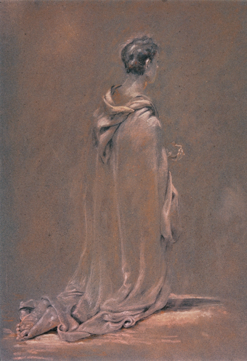 Robed Figure Study for Painting
