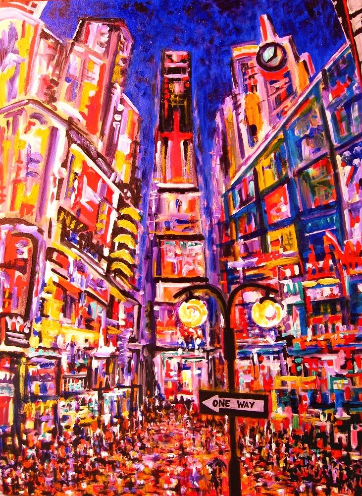 """One Way. Series """"New York, New York"""""""