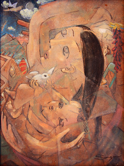 Madonna and Child of the Pueblo
