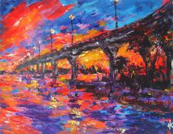 Sunset Bridge #3