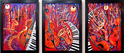 Jazz and The City - Triptych