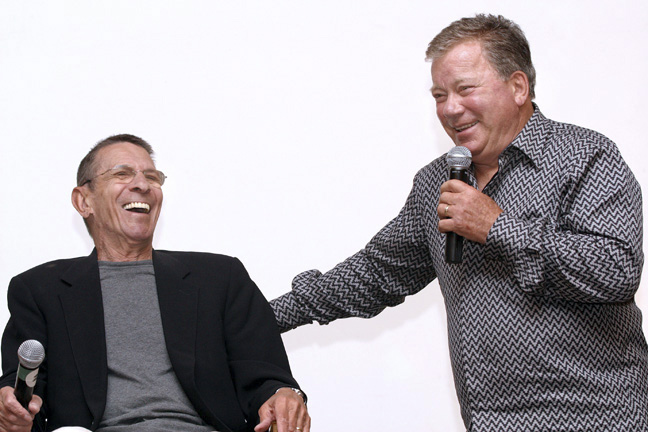 Leonard Nimoy and William Shatner ©S
