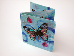 Butterfly Accordion Card