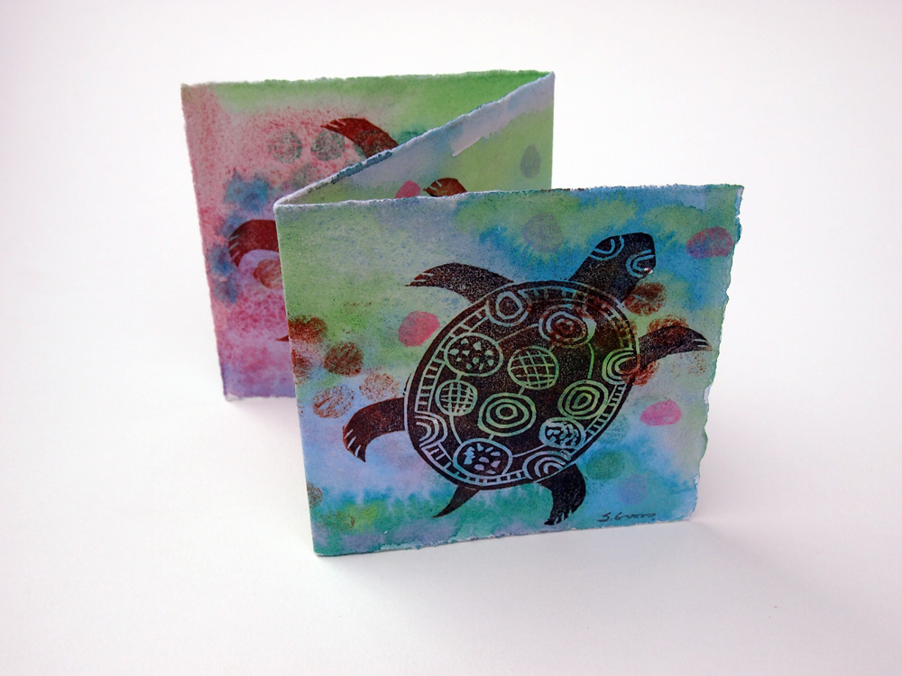Turtle Accordion Card