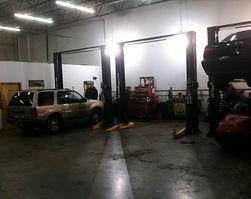 inside Mitch's auto shop philadelphia