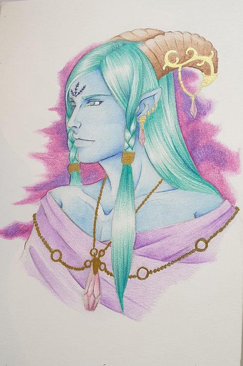 Pastel demon original artwork