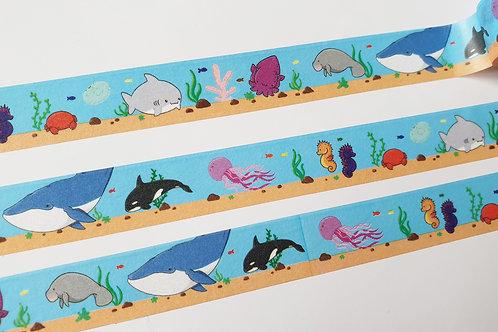 Sea life washi tape