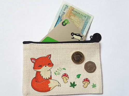 Fox coin purse