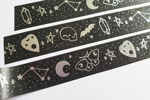 Occult foil washi tape