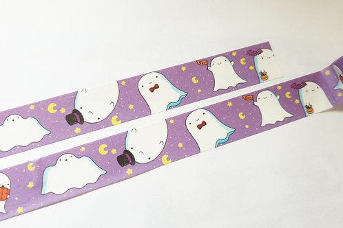 Cute ghost washi tape