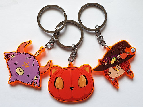 Limited edition orange charms