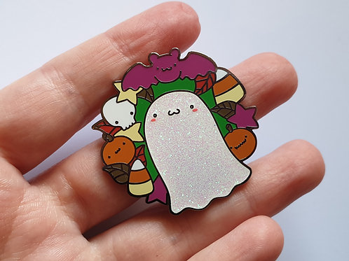 Halloween enamel pin