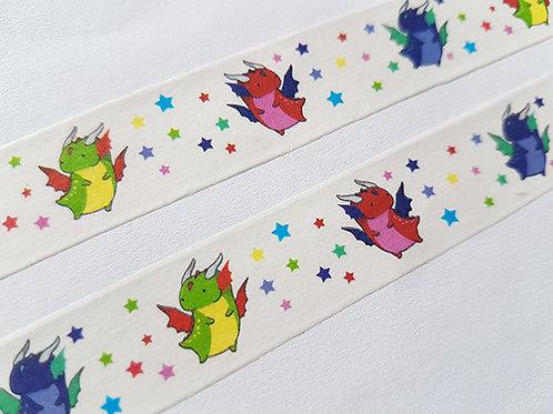 Dragon washi tape