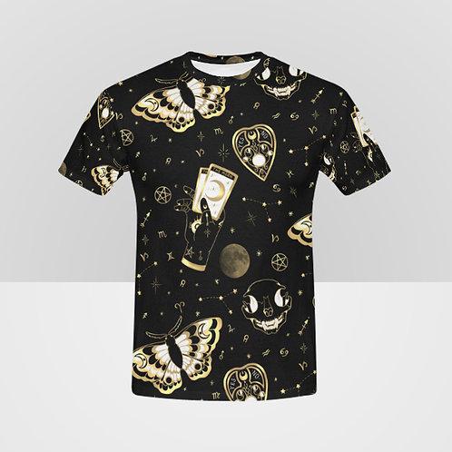 Occult print unisex t-shirt