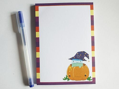Halloween A6 notepad