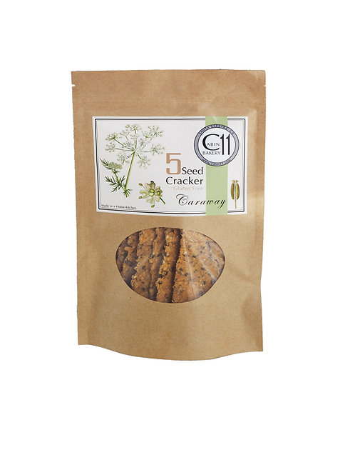 Caraway 5 Seed Cracker, Gluten Free