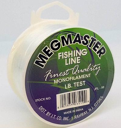 Megmaster Monofilament Fishing Line (choose lb test)