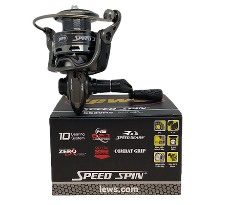 Lew's Speed Spin SS30HS Spinning Reel