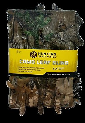 "Hunter's Specialties 56"" x 30"" Camo Leaf Blind (Model 07331)"