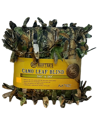 "Hunter's Specialties 56"" x 30"" Camo Leaf Blind (Model 07217)"