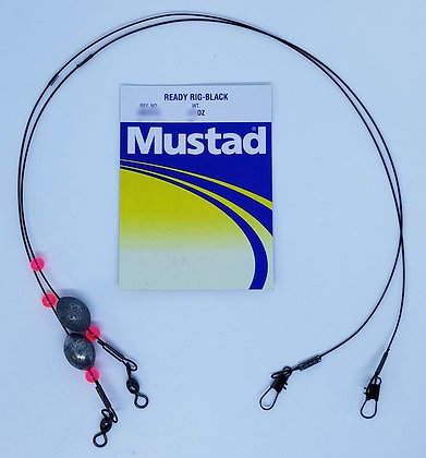 Mustad Ready Rig-Black (choose weight)