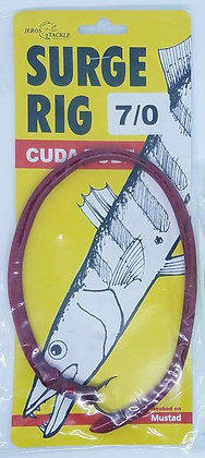 Jeros Tackle Surge Rig Cuda Tube with Size 7/0 Hook