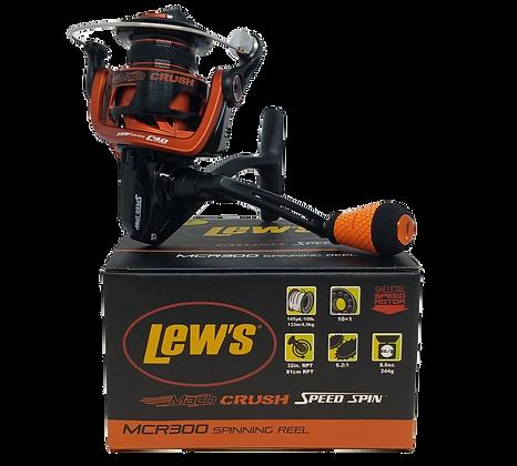Lew's Mach Crush Speed Spin MCR300 Spinning Reel