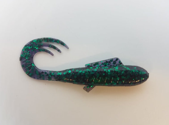 """AWD Baits - 2"""" Crappie Delights - CD55 Solid June Bug (Bag of 1,000)"""