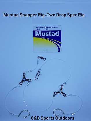 Mustad Snapper Rig-Two Drop Spec Rig