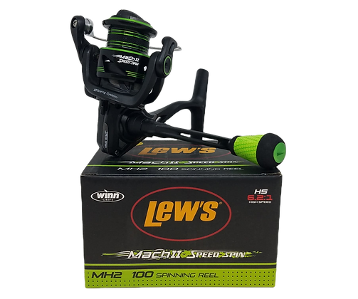 Lew's Mach II Speed Spin MH2 100 Spinning Reel
