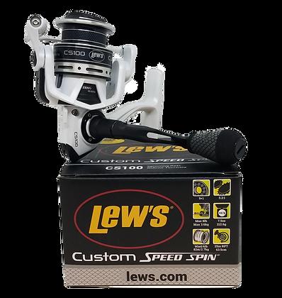 Lew's Custom Speed Spin CS100 Spinning Reel