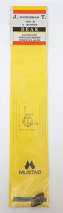 Jeros Tackle Size 8 Mustad Beak Baitholder Snelled Hooks (68-DS)