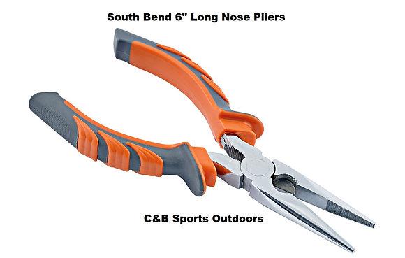 "South Bend 6"" Long Nose Pliers"