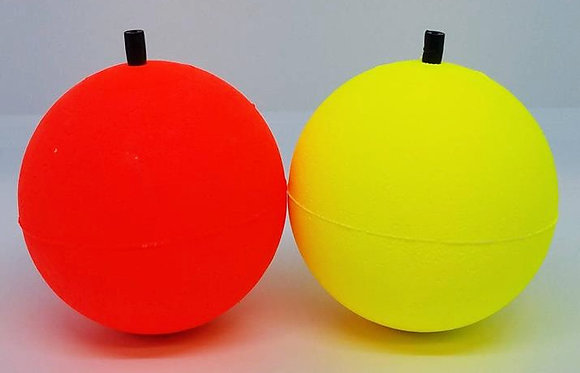 "3"" Unweighted Round Peg Floats (choose color)"