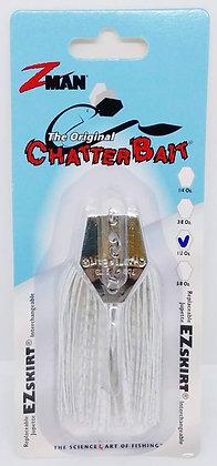 Z-Man Original Chatterbait - 1/2oz White