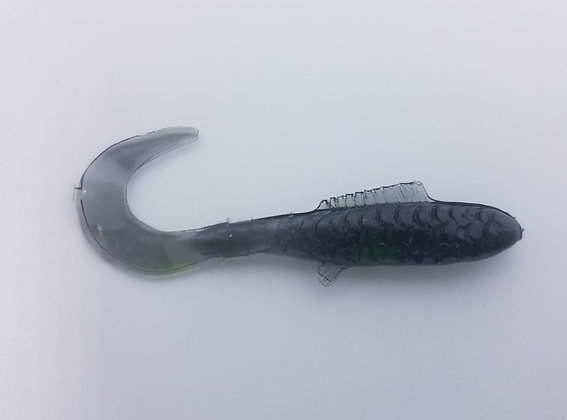 "AWD Baits - 2"" Crappie Delights - CD59 Smoke"