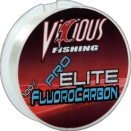 Vicious Fishing Pro Elite Fluorocarbon 200yds (choose lb test)
