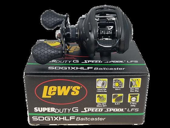 Lew's Super Duty G Speed Spool LFS SDG1XHLF Baitcaster