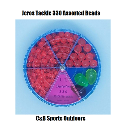 Jeros Tackle 330 Assorted Beads