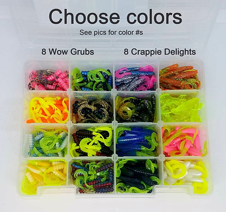 320 Piece Assorted Crappie Box