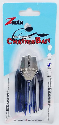 Z-Man Original Chatterbait - 1/2oz Black/Blue