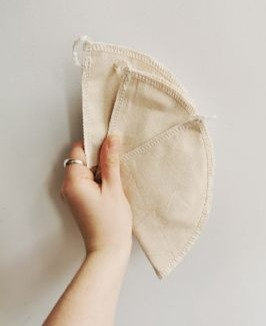 Filtre plat en tissu
