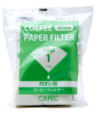 Filtre conique en papier