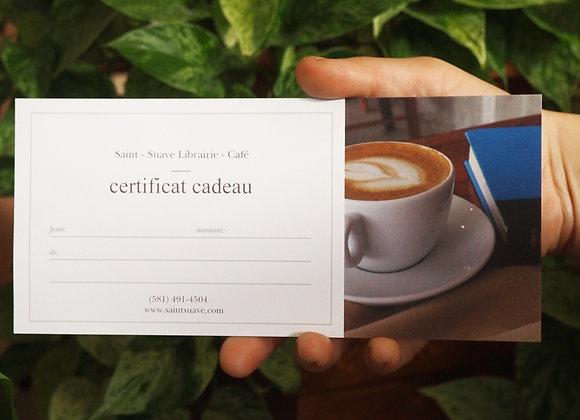 Certificat-cadeau 50